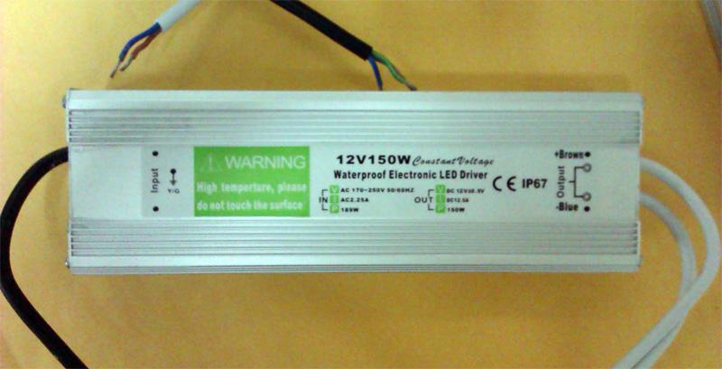 IP67_waterproof_150W_12V_power_supply